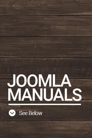 Joomla Manuals